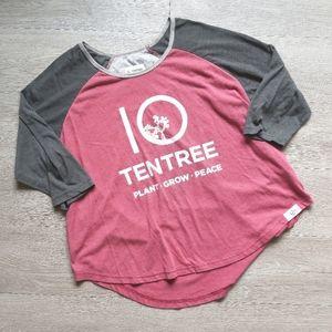 TenTree Three Quarter Sleeve Tee